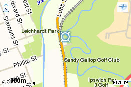 Map of Sandy Gallop Golf Club