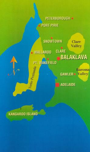 Map of Balaklava Golf Club