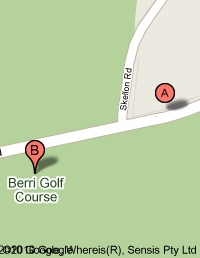 Map of Berri Golf Club