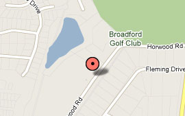 Map of Broadford Golf Club Inc