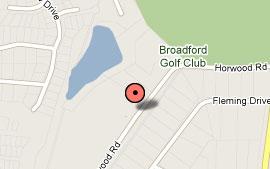 Map of Broadford Golf Club Inc