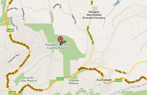 Map of Emerald Country Resort