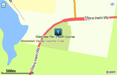 Map of Glenview Par 3 Golf Course