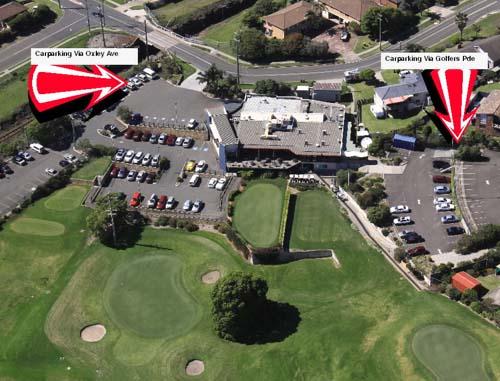 Map of Kiama Golf Club