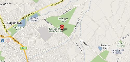 Map of Neangar Park Golf Club