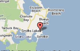 Map of Sandbar Golf Course