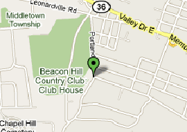 Map of Beaconhills Country Golf Course
