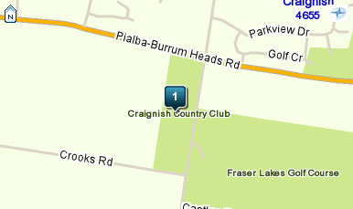 Map of Craignish Country Club Hotel