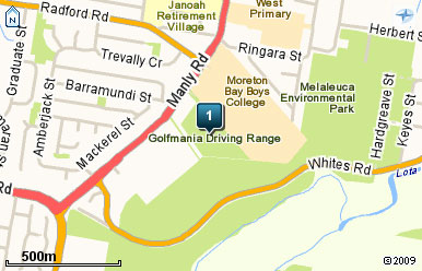 Map of Golf Mania Golf Course