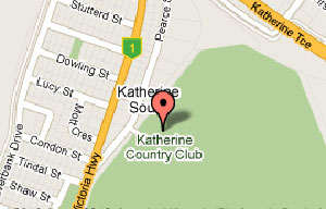 Map of Katherine Country Club