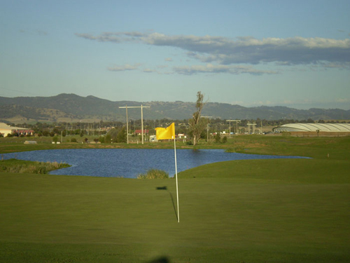 Longyard Golf Club – Tamworth, NSW, AU - Longyard Golf Course - Driving Range, Layout – NSW, Australia