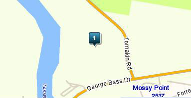 Map of The Moorings Golf Course
