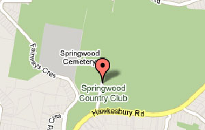 Map of Springwood Country Club