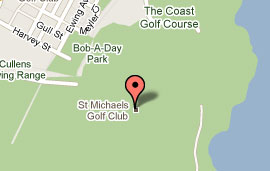 Map of St Michael's Golf Club