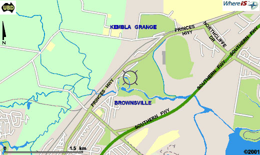 Map of The Grange Golf Club