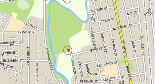 Map of YMCA Echuca Back Nine Golf Course