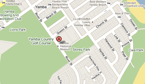 Map of Yamba Golf & Country Club
